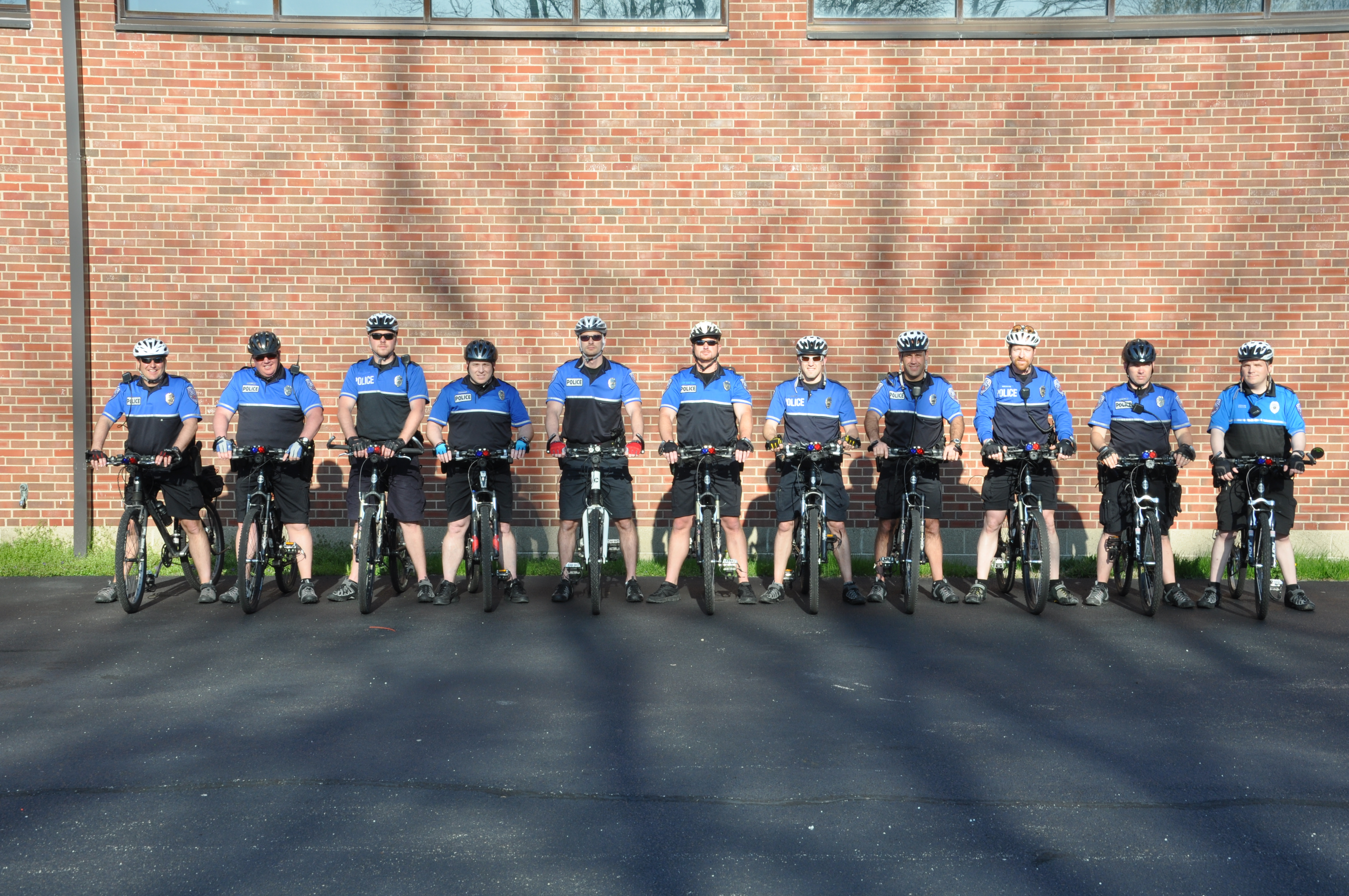 Bike Patrol Group Photo