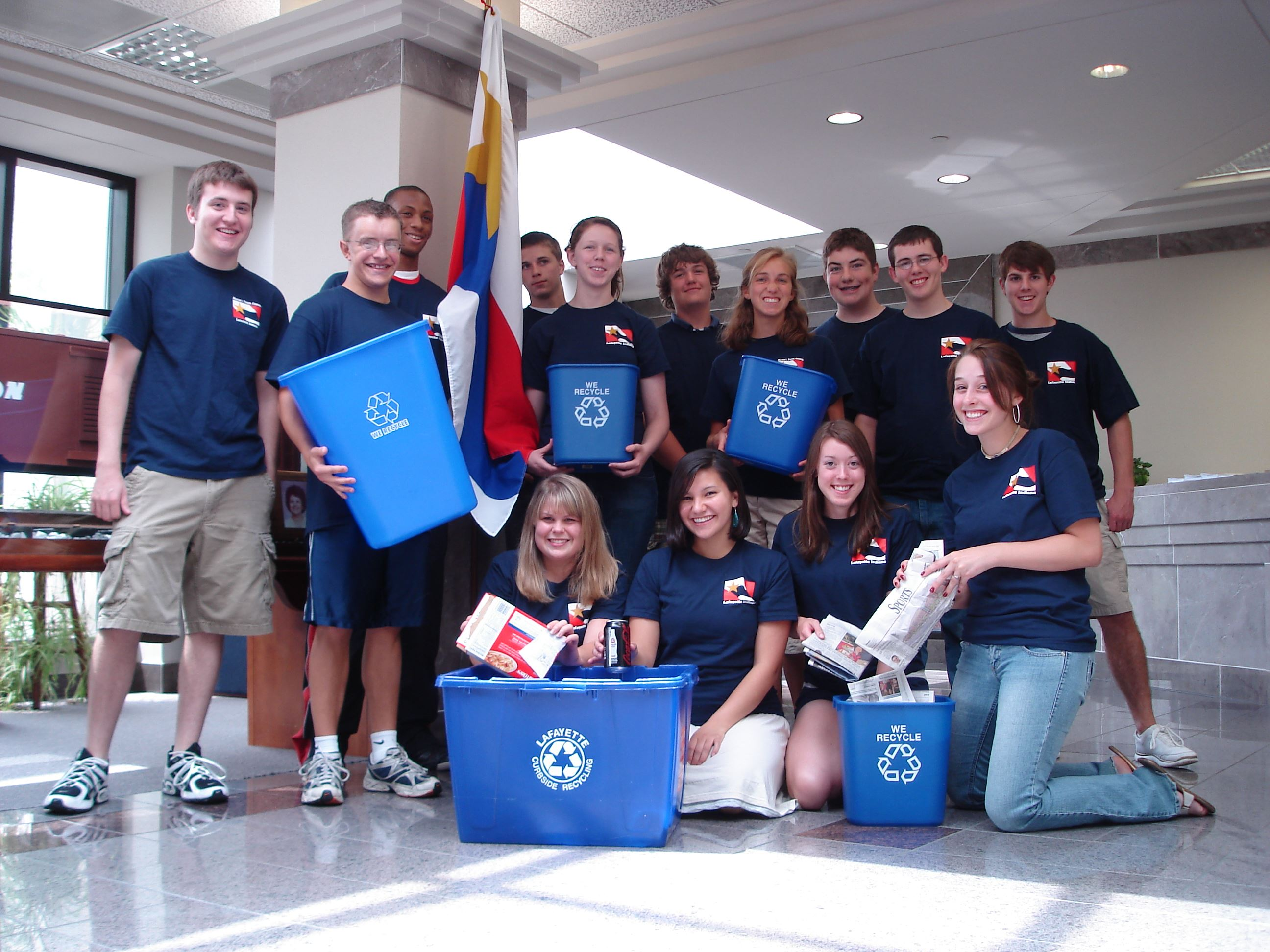 Mayor&#39s Youth Council recycling