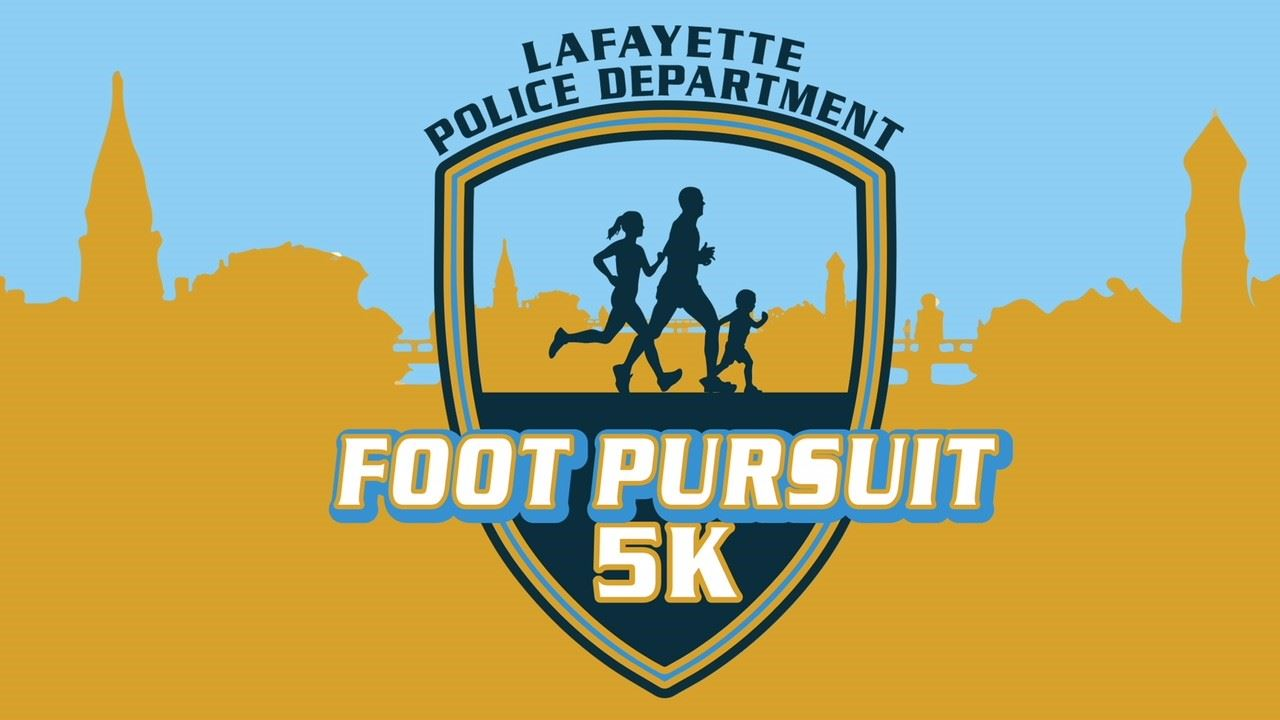 Foot Pursuit 5k Logo