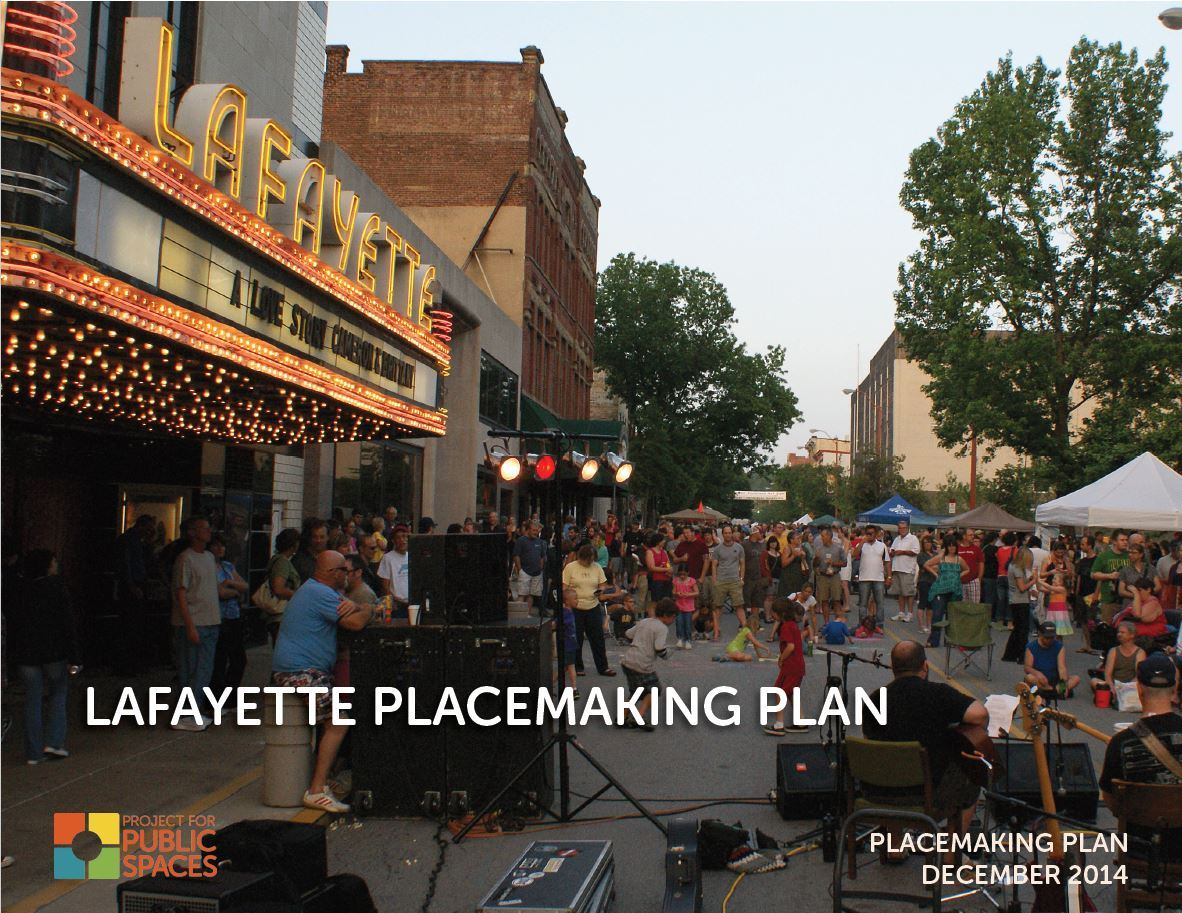 Placemaking Plan Cover Page Opens in new window