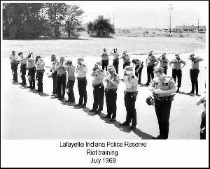 1969 Reserve Officer Riot Training