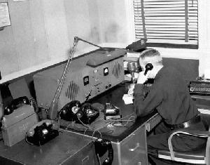 LPD Radio Station KSA923 About 1955