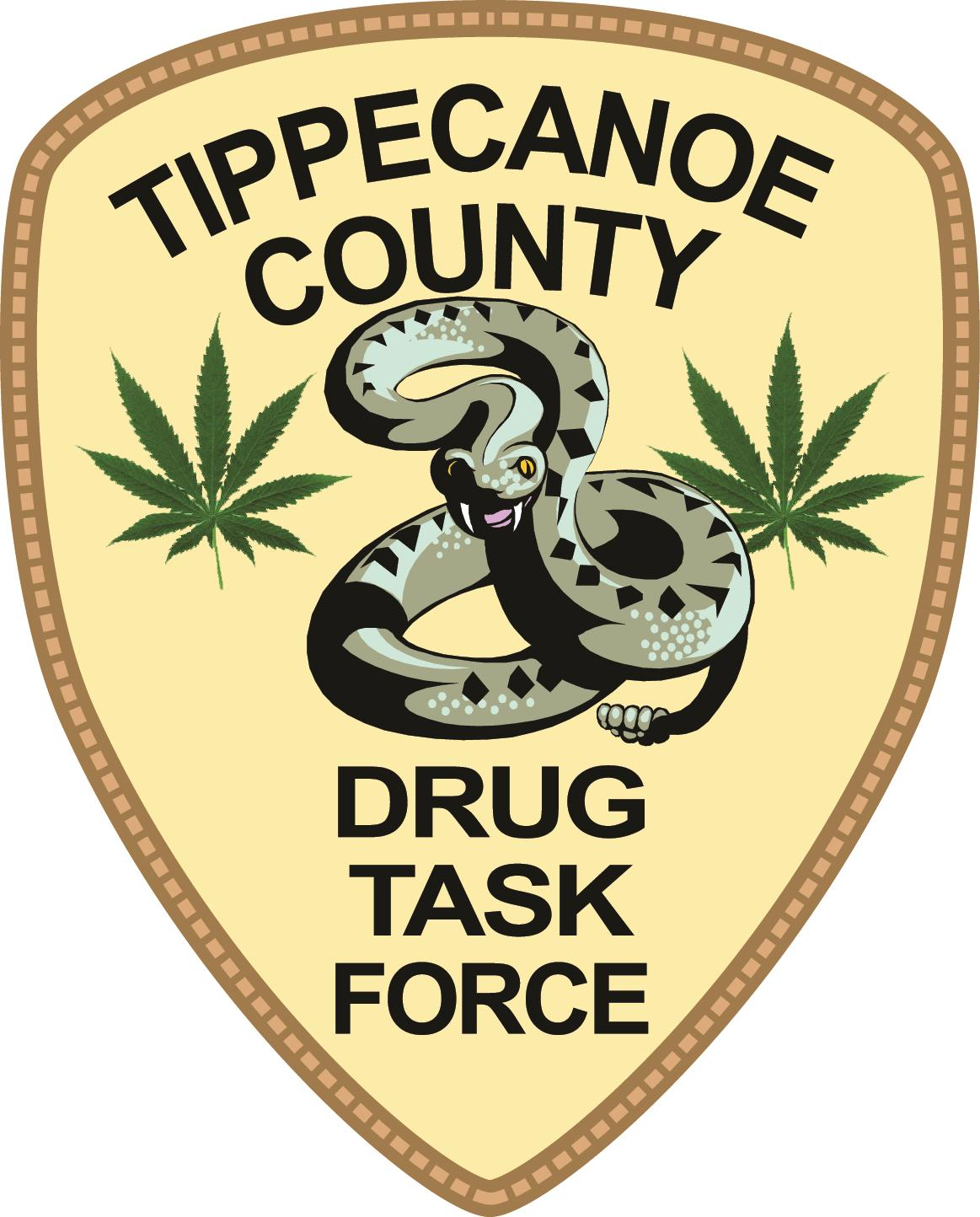 Tippecanoe County Drug Task Force Badge
