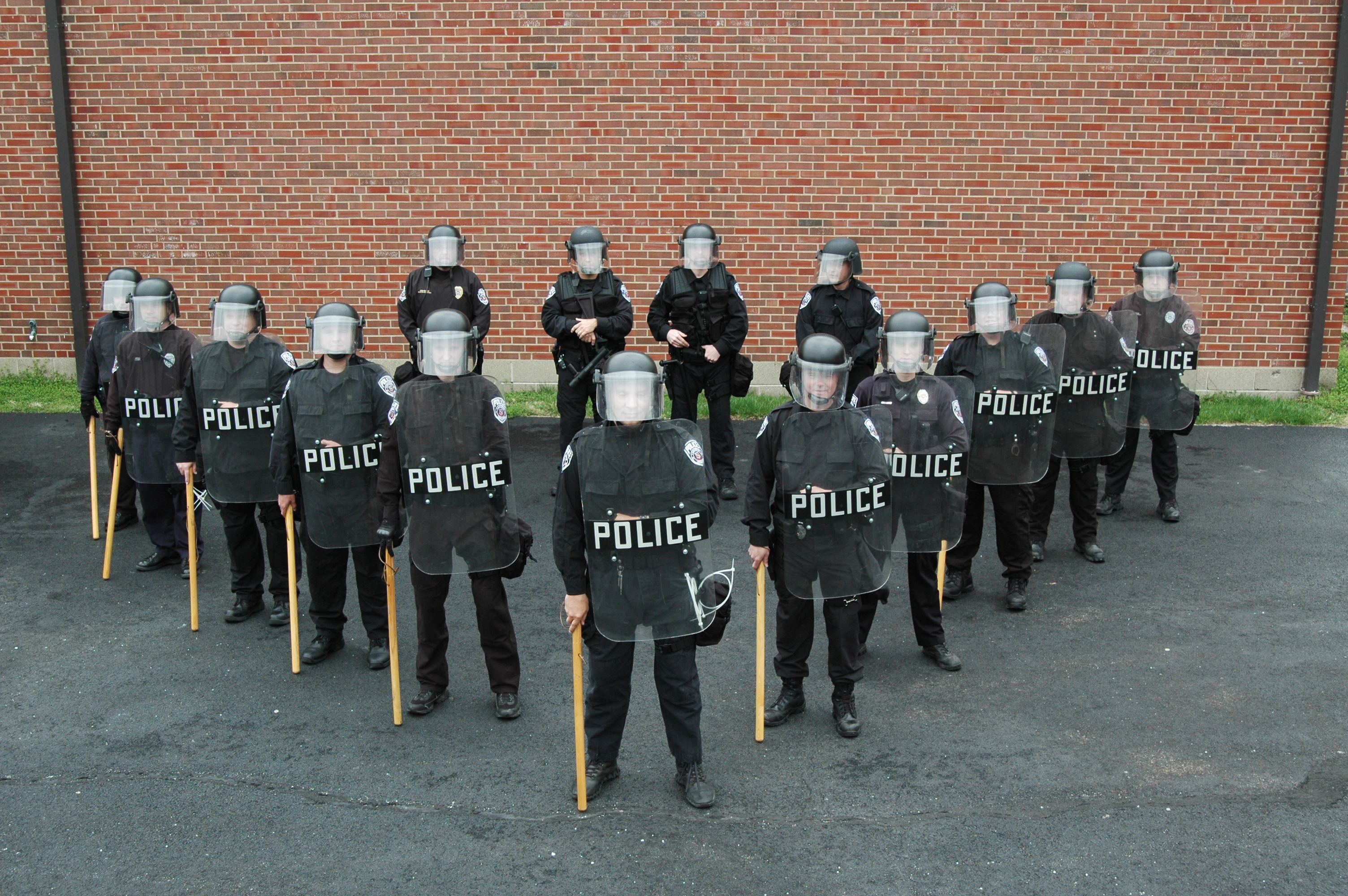 Civil Disturbance Unit Group Photo