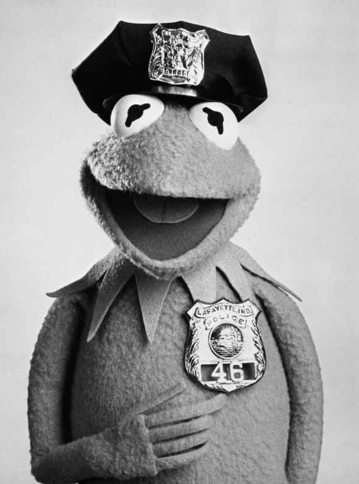 Officer Kermit the Frog | Lafayette, IN - Official Website