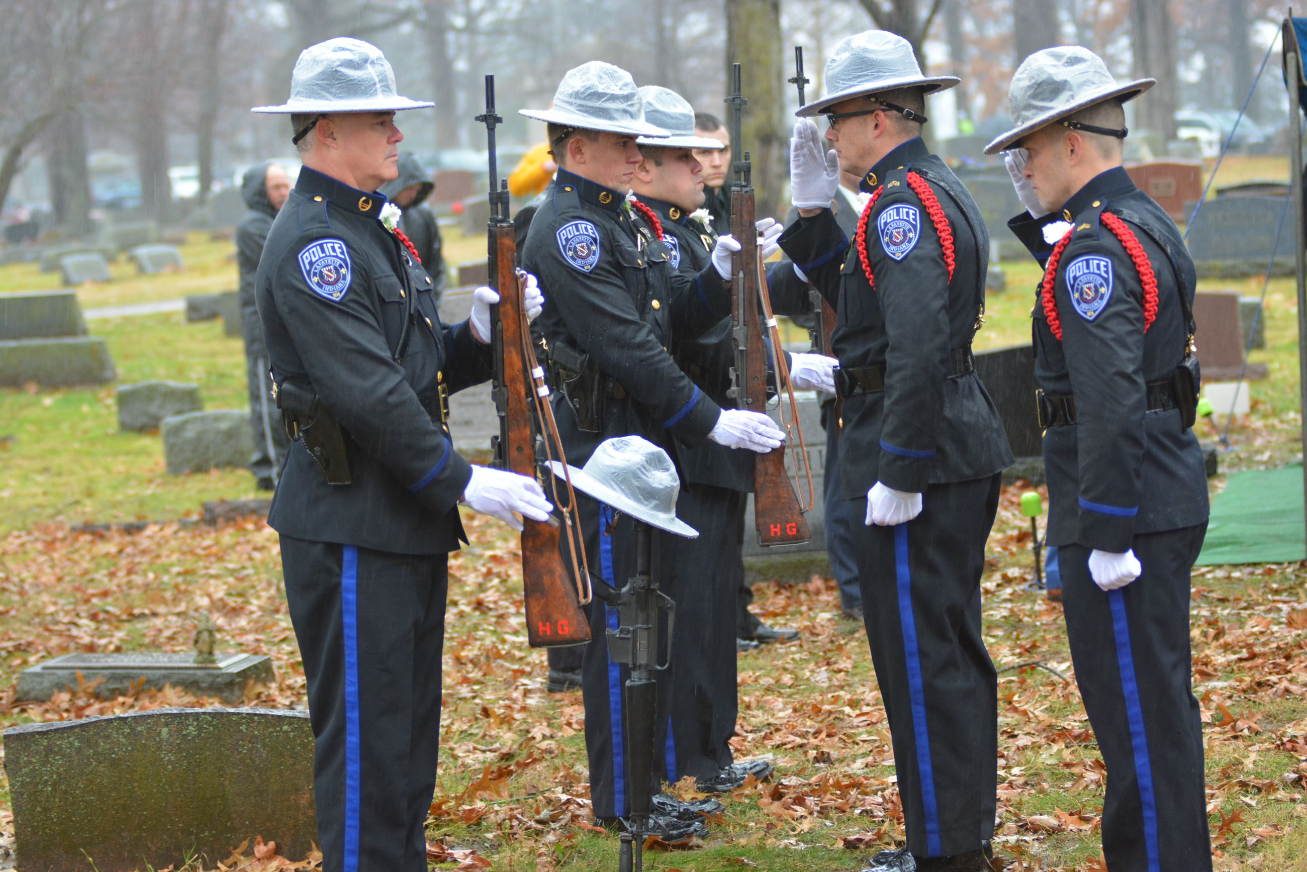 Officer William Meluch Funeral