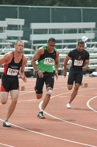 Jacob Daubenmier Competing in the 2009 Games